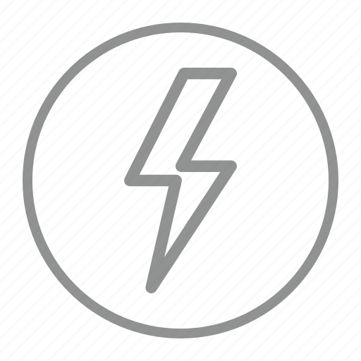 fast, lightning, power, quick icon