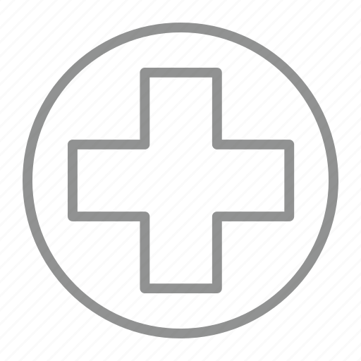 add, create, hospital, plus icon