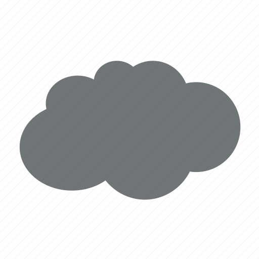 cloud, clouds, cloudy, forecast, rain, weather icon