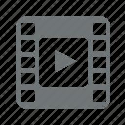 camera, film, media, movie, multimedia, player, video icon