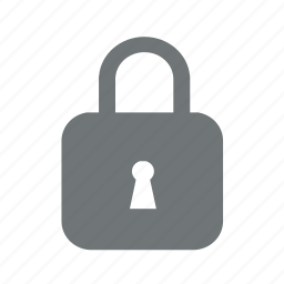 lock, locked, padlock, password, protection, safety, secure, security icon