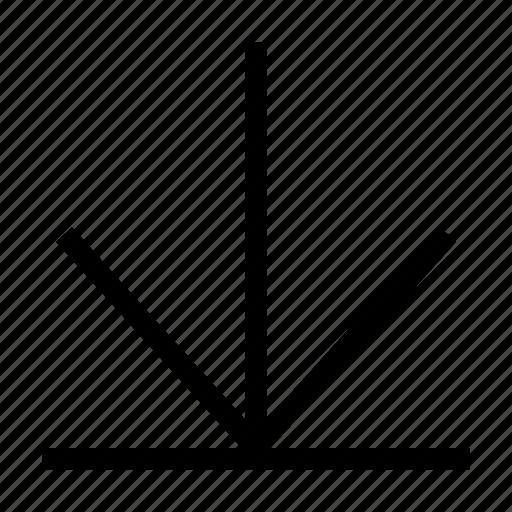 arrow, cloud, down, download, file icon