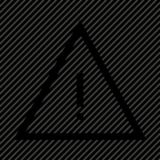 Warning, alert, danger, error, sign icon - Download on Iconfinder
