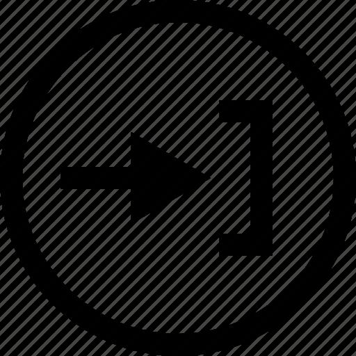 arrow, forward, go, next, send icon