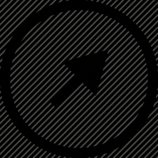 arrow, click, clicking, point, pointer icon