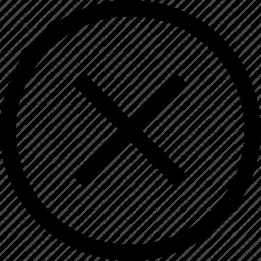 cross, delete, mark, menu, x icon