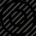 eye, goal, menu, navigation, target icon