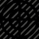 cross, goal, menu, navigation, target icon