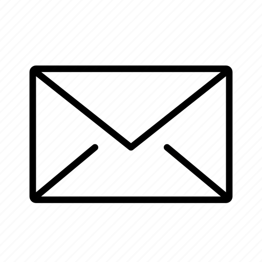 e-mail, envelope, inbox, letter, mail, message, post icon