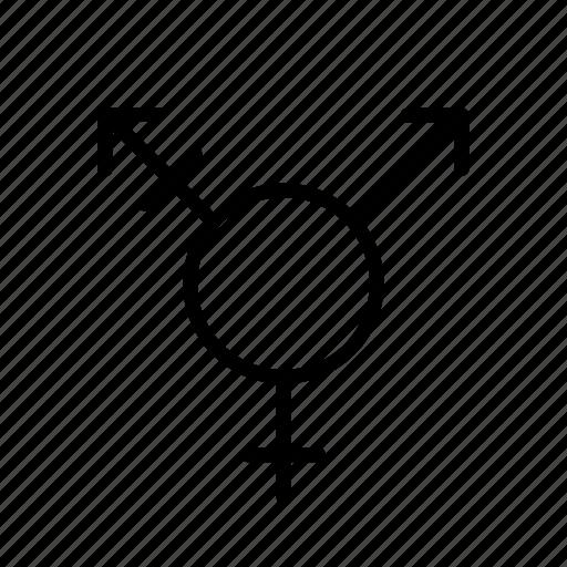 gender, sex, trans, transgender icon