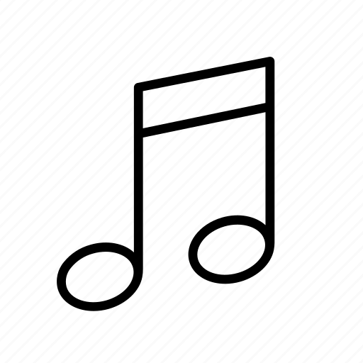 audio, media, melody, music, note, song, sound icon