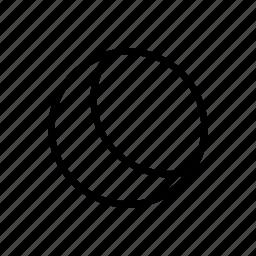dark, moon, night, sleep icon