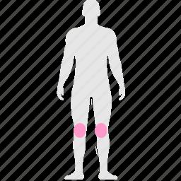 body, bone, health, legs, pain icon