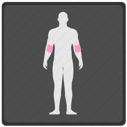 body, human, joint, pain, ray, x icon