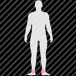 body, health, human, legs, pain icon