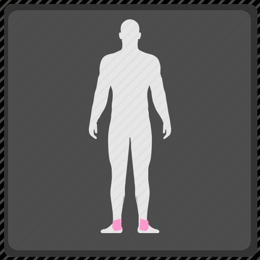 human, legs, man, pain, ray, x icon