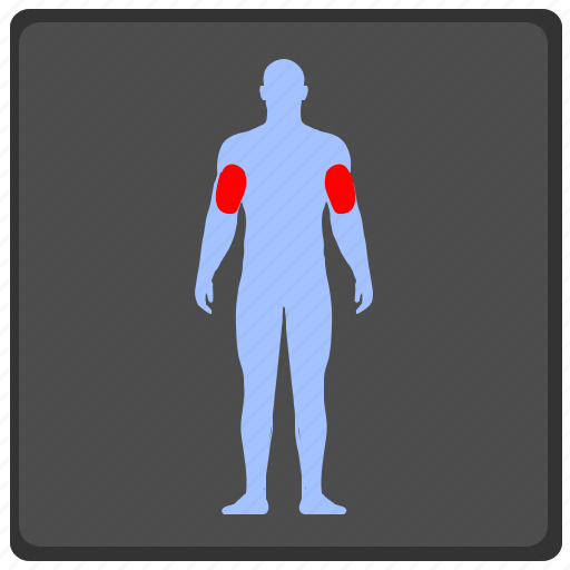 body, brawn, health, man, muscle, pain, trainings icon