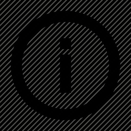 arrow, circle, data, help, info, information, round icon