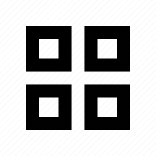 creative, design, grid, interface, layout, line, shape icon