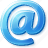 e, email, letter, mail icon