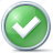 accept, check, checkmark, correct, green, ok, right, success, tick, yes icon