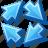 arrow, button, synchronize, synchronized, web icon