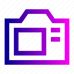 camera, digital, electronic, lens, microchip, photo, picture icon