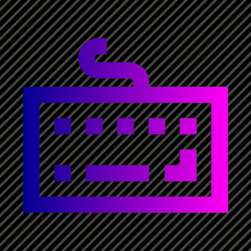 keyboard, type, typing icon