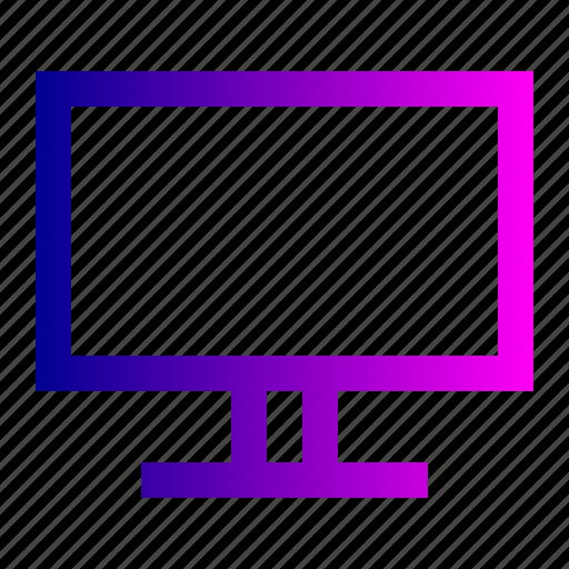 screen, television, tv icon