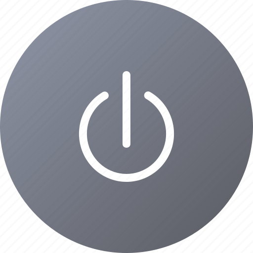 circle, off, power, start icon