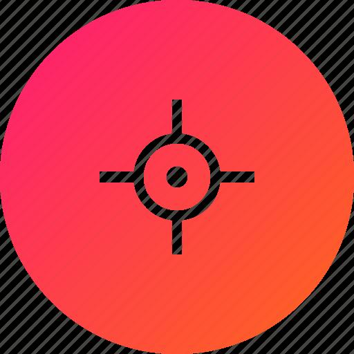 fixed, gps, location icon