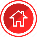 home, house, page, web icon