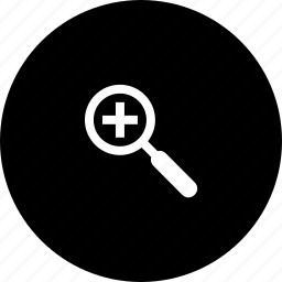 enlarge, gtk, in, zoom icon