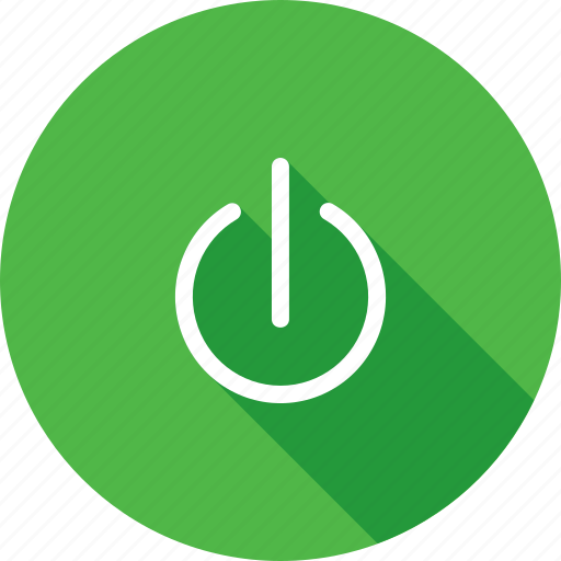 circle, off, power, switch icon