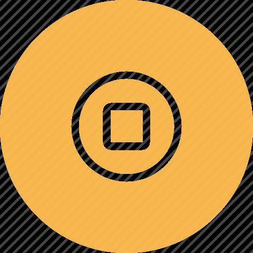 button, home, ipad, ipod icon