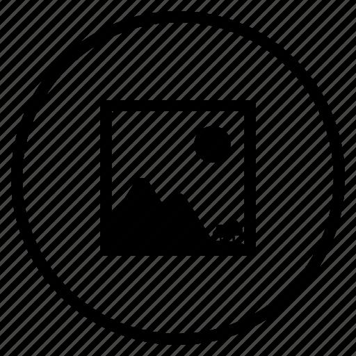 images, photo, storage icon