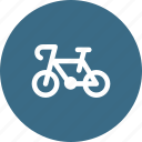 bicycle, bike, cycle, transport, vehicale icon