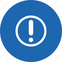 help, information, service, warning icon