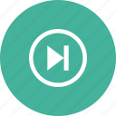 forwaed, media, music, player, video icon