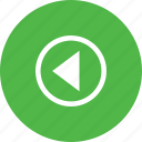 arrow, media, music, player, video icon
