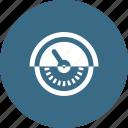 gauge, measuement, metyer, speed icon