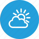 cloud, hot, nature, summer, sun, weather icon