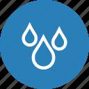 drop, drops, rain, water icon