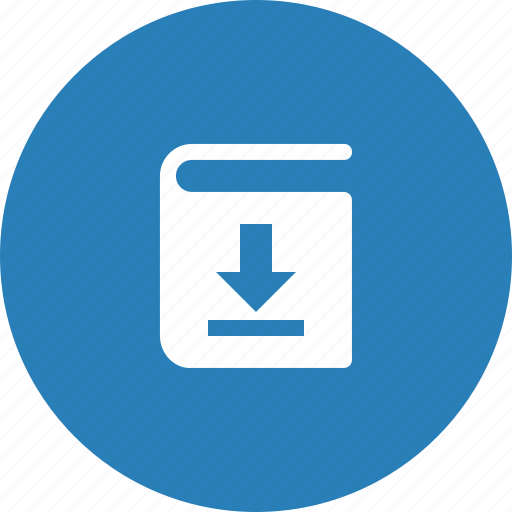 book, data, document, download, file icon