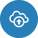 cloud, nature, upload, weather icon