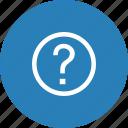 help, information, service icon