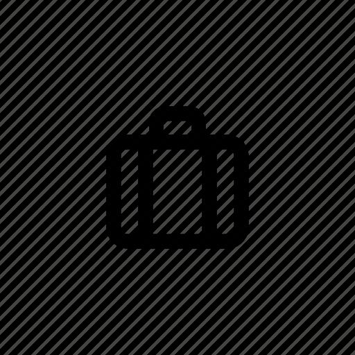 bag, brief case, business, case, portmanteau, suitecase, travel icon