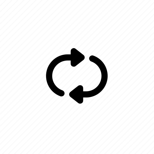 cycle, loop, repeat icon