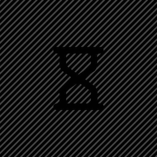 hourglass, sand, sandglass, time, timer, wait, watch icon