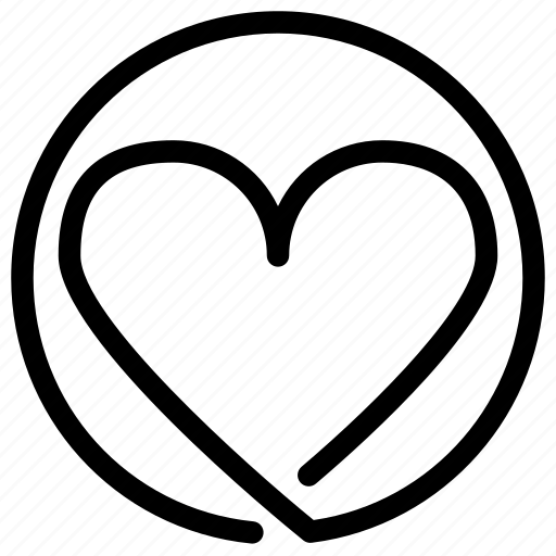 heart, like, love, valentine icon